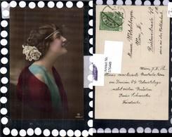 576449,Foto-AK Frau Portrait Haarband Haarschmuck Pub RPH 4086/1 - Frauen