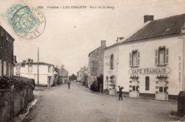 Les Essarts : Rue De La Gare - Les Essarts