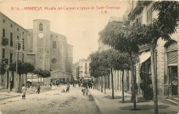 MANRESA  MURALLA DEL CARMEN E IGLESIA DE SANTO DOMINGO - Non Classés