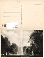 572641,Foto Ak Potsdam Schloss Sanssouci Fontäne Brunnen Springbrunnen - Deutschland