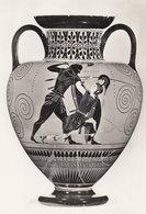 Attic Black Figured Amphora Greek Achilles Vase Pottery RPC Postcard - Antiquité