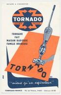 Buvard 13.4 X 21 TORNADO Aspirateur Licence Suisse Illustrateur Emile Dulac - Electricity & Gas