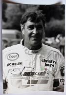 Photo Avec Autographe Frecquelin Guy Pilote De Rallye Automobile Le Grizzly Paris Dakar - Car Racing - F1