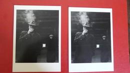 Lot De 2 Cartes 5.Robert Doisneau - Monsieur Georges Et Riton, Rue Watt, Paris (1953) - Doisneau