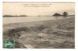 41 LOIR ET CHER - BLOIS Crue De La Loire En 1907 - Blois