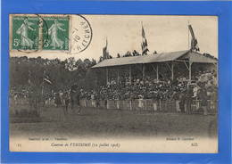41 LOIR ET CHER - VENDOME Courses Du 12 Juillet 1908 - Vendome