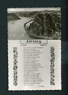 CPSM - RP  - LORELEY - DER LORELEYFELSEN - Loreley