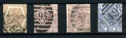 3650- Gran Bretaña Nº 47, 55/6, 62 - 1840-1901 (Victoria)