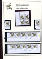 Belgie 2424 Preo FLUO Buzin Vogels Birds Feuille De Collection Numéro De Planche Plaatnummer Drukdatum - 1985-.. Pájaros (Buzin)
