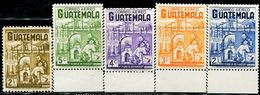AP1546 Guatemala 1964 Xuanfuli Relief Hungry Building 5V MNH - Salute