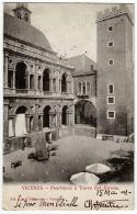 VICENZA PESCHIERA E TORRE DEL GIRONE Vg 1909 - Vicenza