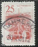 JUGOSLAVIA YUGOSLAVIA 1961 1962 Cable Factory, Svetozarevo 25d USATO USED OBLITERE - 1945-1992 Repubblica Socialista Federale Di Jugoslavia