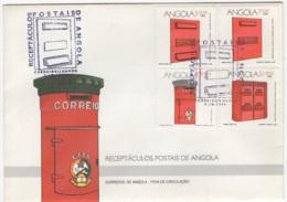 Angola. 1994. FDC Avec TP (Y&T) N° 934/37 - Angola