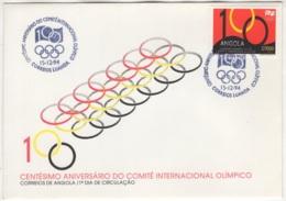 Angola. 1994. FDC Avec TP (Y&T) N° 946 - Angola