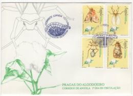 Angola. 1994. FDC Avec TP (Y&T) N° 942/45 - Angola