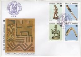Angola. 1994. FDC Avec TP (Y&T) N° 915/18 - Angola