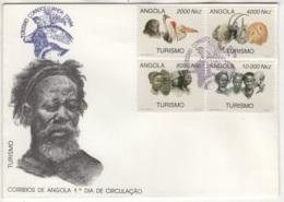 Angola. 1994. FDC Avec TP (Y&T) N° 938/41 - Angola