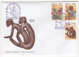 Angola. 1994. FDC Avec TP (Y&T) N° 927/29 - Angola