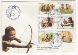 Angola. 1995. FDC Avec TP (Y&T) N° 951/56 - Angola