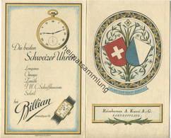 Schweiz - Zürich - Plan Der Innenstadt 20er Jahre - Reisebureau A. Kuoni AG Bahnhofplatz 7 Zürich - Gefaltet - Reiseprospekte