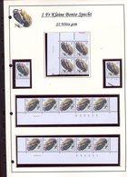 Belgie 2349 S2 Buzin Vogels Birds Feuille De Collection Numéro De Planche Plaatnummer Drukdatum - 1985-.. Pájaros (Buzin)