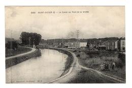 52 HAUTE MARNE - SAINT DIZIER Le Canal Au Pont De La Grotte - Saint Dizier