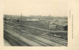 WW  27 EVREUX. Rare Centre Hospitalier 1918. La Ligne Du Chemin De Fer Et Les Baraquements Cliché Bouloc - Evreux