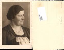 576485,Foto-AK Frau Portrait Frauen Mädchen Halskette - Frauen