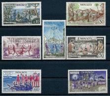 """Monaco YT 939 à 945 """" Comité Des Traditions Monégasques """" 1973 Neuf** - Monaco"""