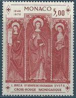 """Monaco YT 933 """" Croix-Rouge Monégasque """" 1973 Neuf** - Unused Stamps"""