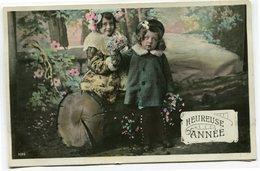 CPA - Carte Postale - Fantaisie - Enfant - Heureuse Année ( CP5315 ) - Nieuwjaar