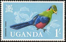 Ouganda. Uganda 1965    Touraco Du Rwenzori   Ruwenzorornis Johnstoni - Coucous, Touracos