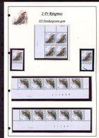 Belgie 2347 H3 Buzin Vogels Birds Feuille De Collection Numéro De Planche Plaatnummer Drukdatum - 1985-.. Pájaros (Buzin)