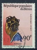 "Benin, ""Songas"" Hairstyle, 1983, VFU - Benin - Dahomey (1960-...)"