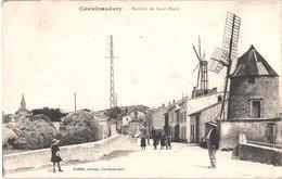 FR11 CASTELNAUDARY - Moulins De Saint Roch - Animée - Belle - Castelnaudary
