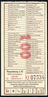 B6440 - Fahrschein Fahrkarte Ticket - DR - Deutsche Reichsbahn - Hainichen - Chemins De Fer