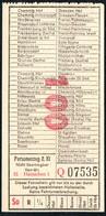 B6441 - Fahrschein Fahrkarte Ticket - DR - Deutsche Reichsbahn - Hainichen - Chemins De Fer