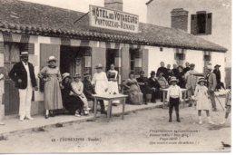 Bretignolles : Hôtel Des Voyageurs Pontoizeau-Renaud - Bretignolles Sur Mer