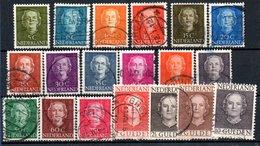 Pays Bas / Série N 512 à 527 / Oblitérés - Period 1949-1980 (Juliana)