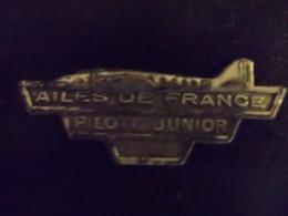 Rare Insigne Ailes De France Pilote Junior Aviation - Aviation