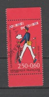 FRANCE / 1993 / Y&T N° 2792a : Journée Du Timbre (Tati) Avec Surtaxe De Carnet Avec Bords - Choisi - Cachet Rond - France
