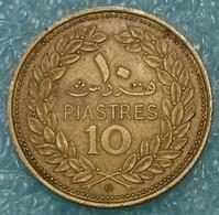 Lebanon 10 Piastres, 1975 - Libanon