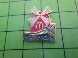 1218B Pin's Pins / Rare Et De Belle Qualité / McDONALD'S : SANNOIS MOULIN A VENT - McDonald's