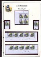Belgie 2321 H2 Buzin Vogels Birds Feuille De Collection Numéro De Planche Plaatnummer Drukdatum - 1985-.. Pájaros (Buzin)