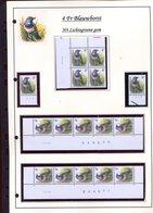 Belgie 2321 H4 RR Buzin Vogels Birds Feuille De Collection Numéro De Planche Plaatnummer Drukdatum - 1985-.. Pájaros (Buzin)