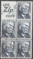 UNITED STATES     SCOTT NO  1280A     USED      YEAR  1965    BOOKLET PANE - Gebruikt