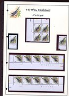 Belgie 2474 S2 Buzin Vogels Birds Feuille De Collection Numéro De Planche Plaatnummer Drukdatum - 1985-.. Oiseaux (Buzin)