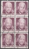 UNITED STATES     SCOTT NO  1395B     USED      YEAR  1970    BOOKLET PANE - Gebruikt