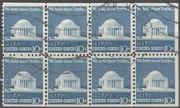 UNITED STATES     SCOTT NO  1510C     USED      YEAR  1973    BOOKLET PANE - Gebruikt