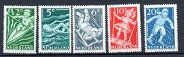 Pays Bas / Série N 499 à 503 / NEUFS ** - 1891-1948 (Wilhelmine)